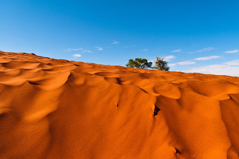 Alice Springs sand hills