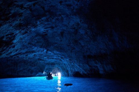 The Blue Grotto, Italy