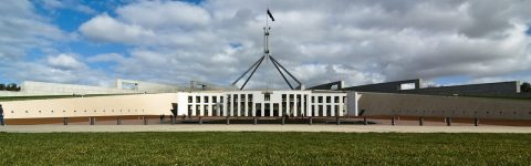 Virtual tour video of Parliament House Canberra