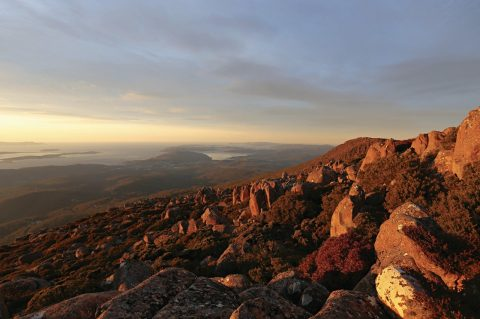 kunanyi summit view, Hobart - Tasmania