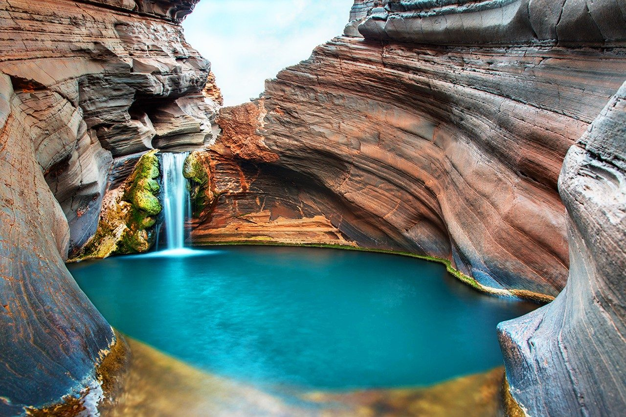 Spa Pool, Karijini National Park, WA