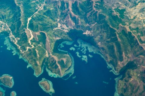 Philippines Islands from above