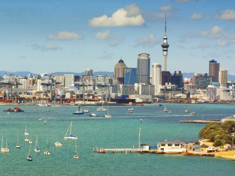 Book flights to Auckland