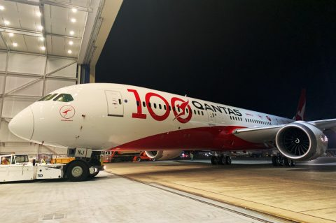 Qantas 100 decal