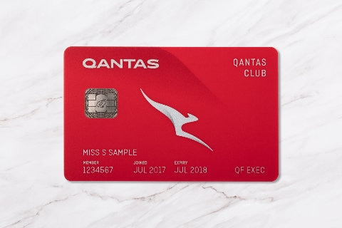 qantas club card