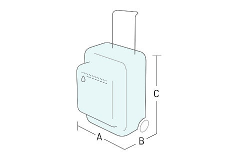 Sketch of a 7kg bag