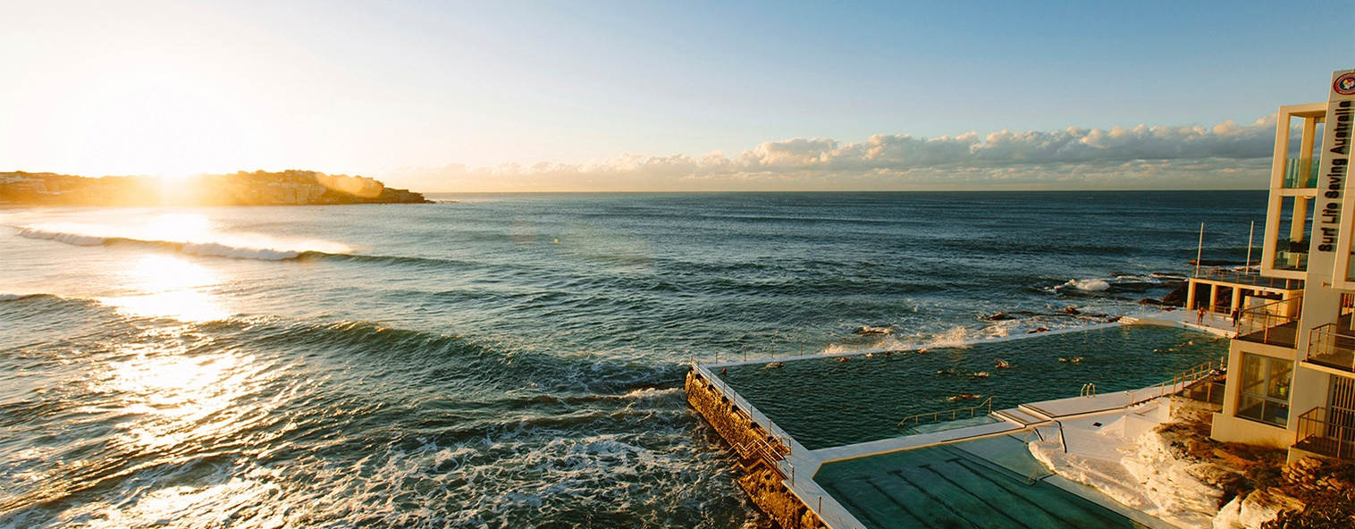 Bondi rock pool, Sydney