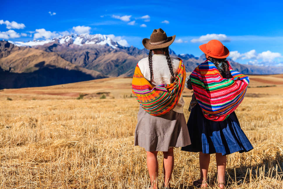 Peruvian women, The Sacred Valley, Peru