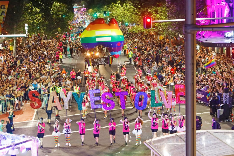 Say Yes to Love - Sydney Mardi Gras 2017