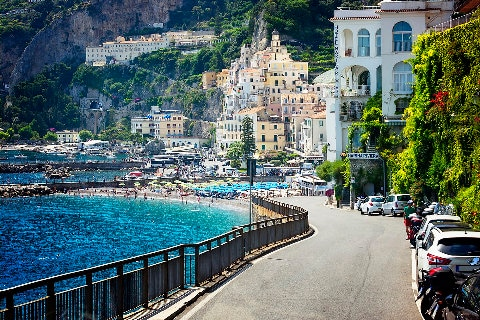 Village in Amalfi Coast