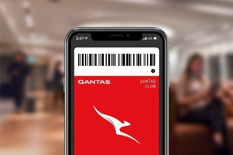 Qantas Club membership kit