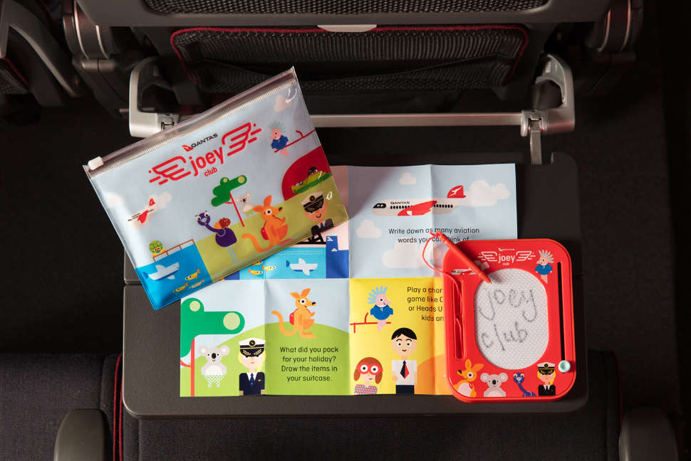 Joey Club inflight kids kit