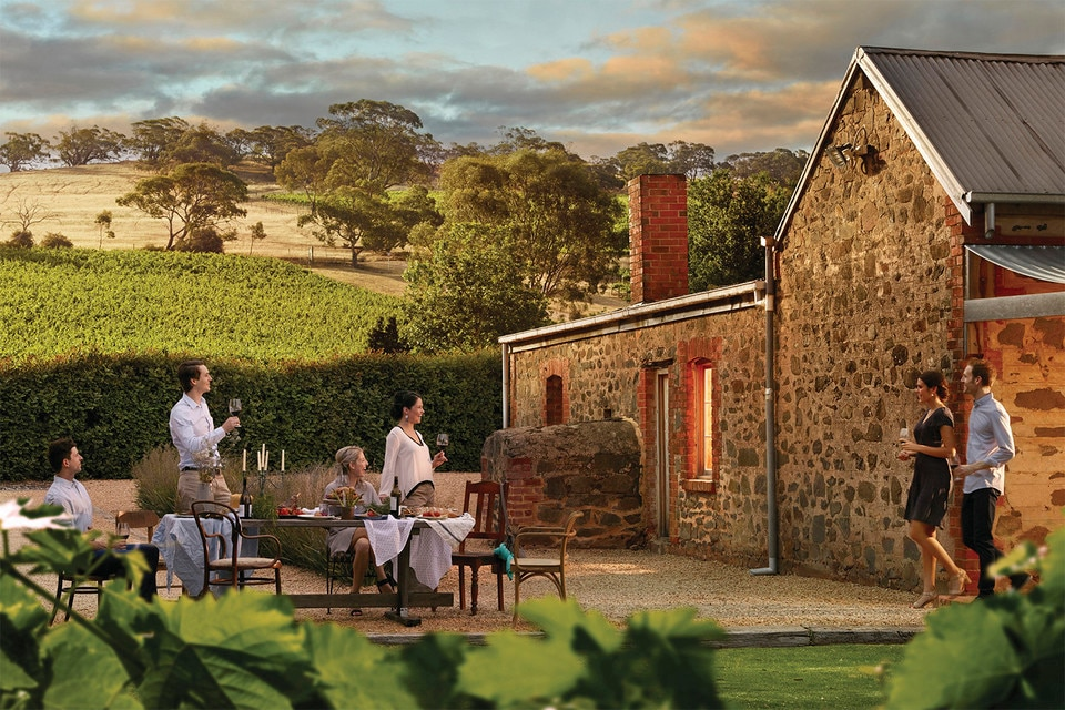 Dining in the Barossa Valley