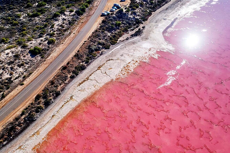 Hutt Lagoon, near Port Gregory