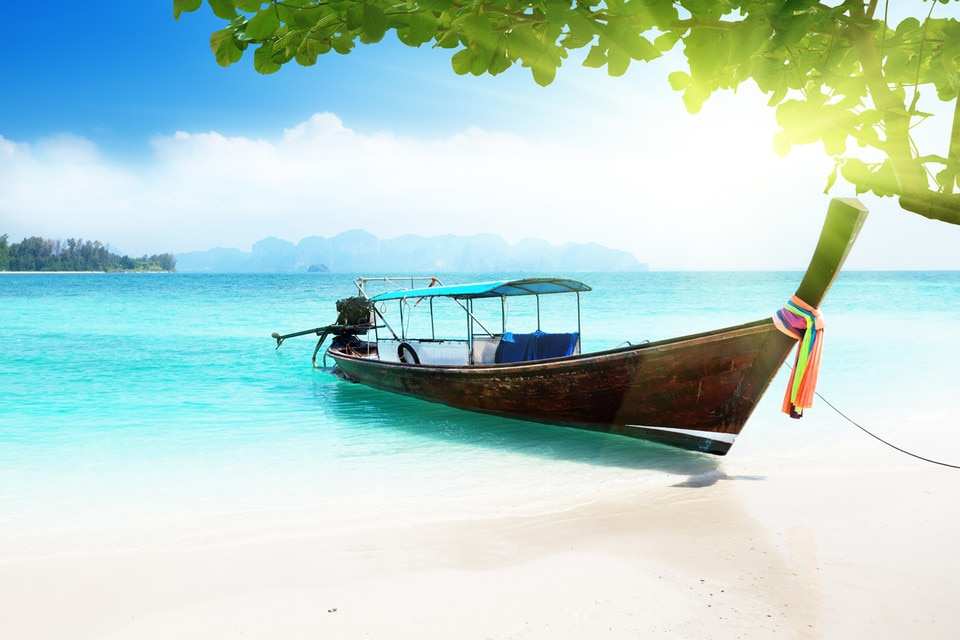 Qantas Assure Aug17 Thailand Beach Boat