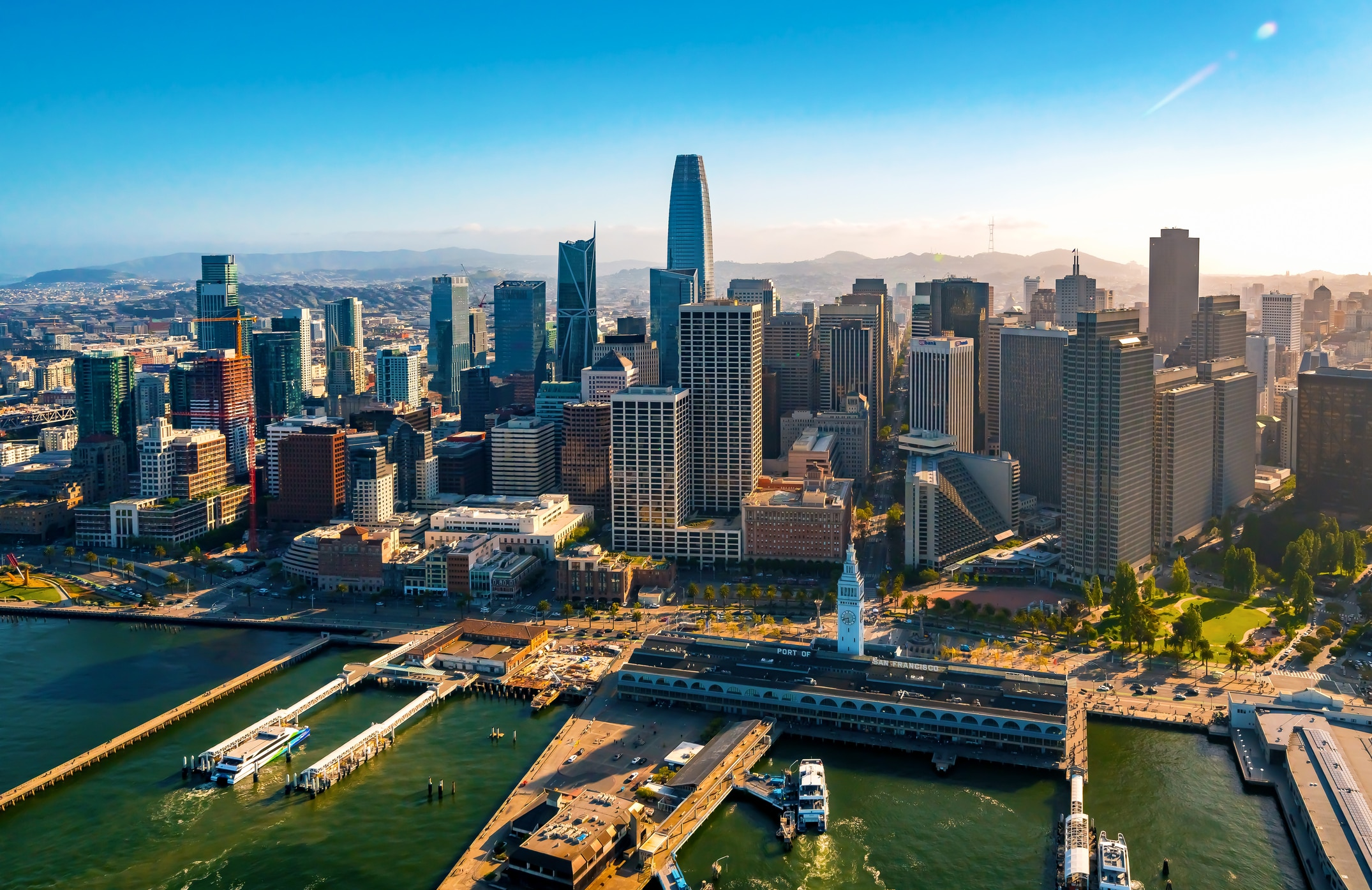 Downtown San Francisco Stock Photo - Download Image Now