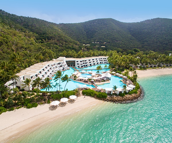 Triple Qantas Points and Private Island Luxury