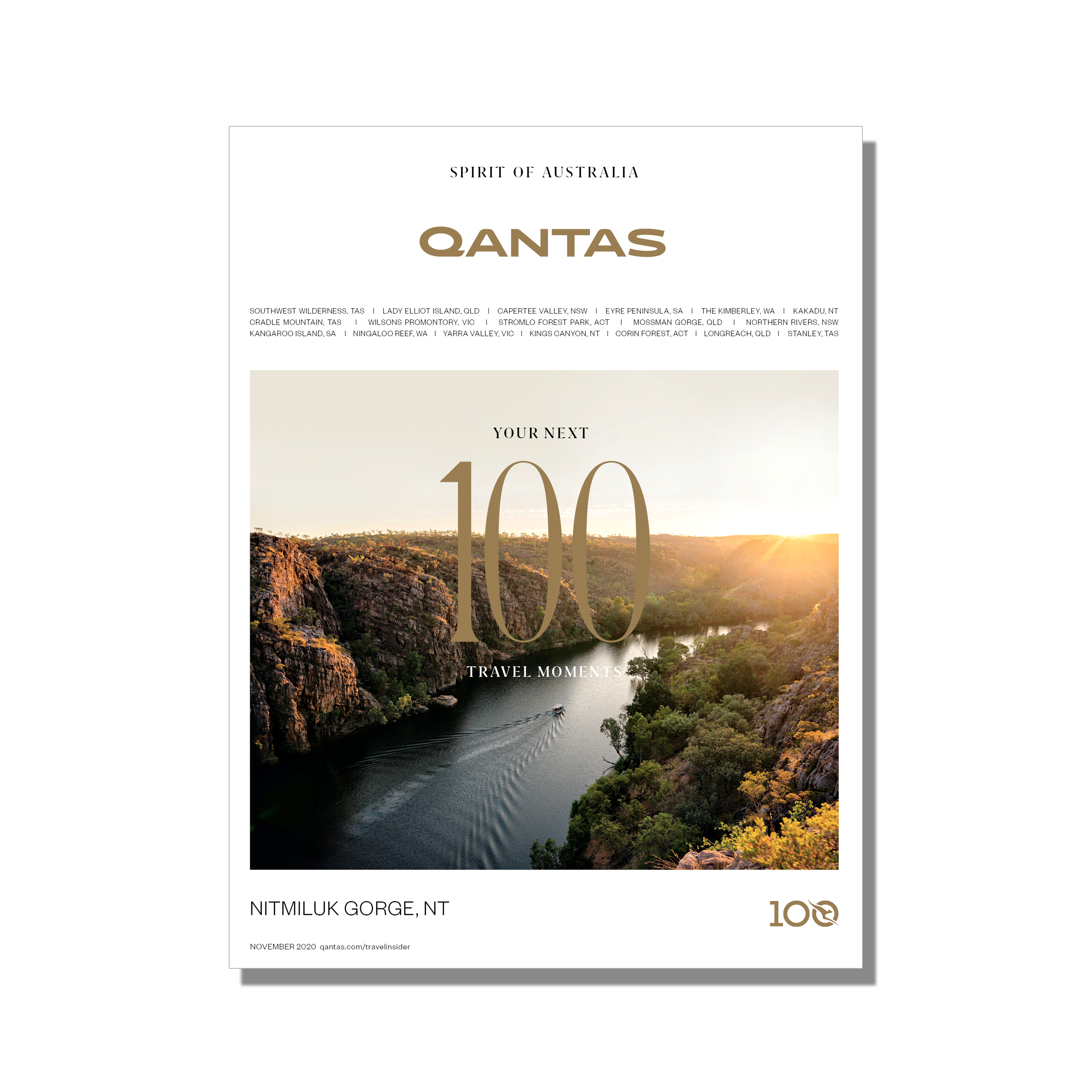 November 2020 issue of Qantas magazine