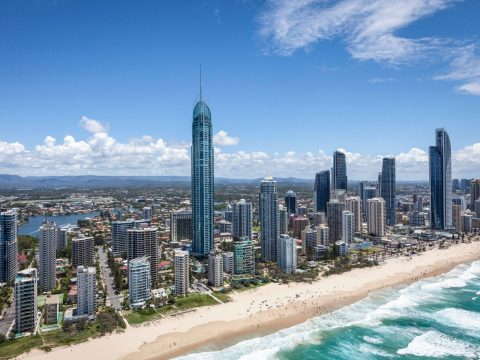 Book flights to the Gold Coast