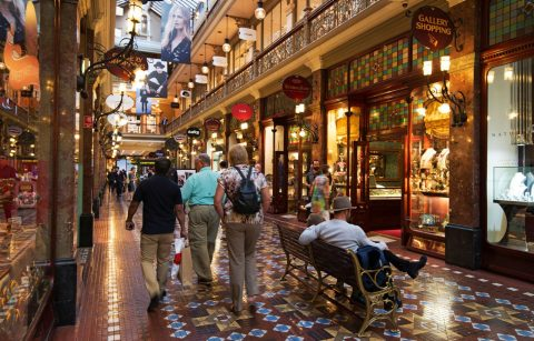 Strand Arcade, shopping in Sydney