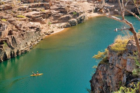 Paddle the gorges, NT