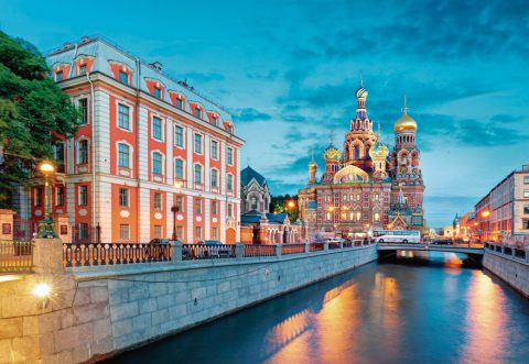 Baltic luxury cruise, St Petersburg