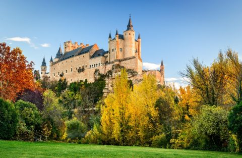Alcázar of Segovia, Segovia, Spain