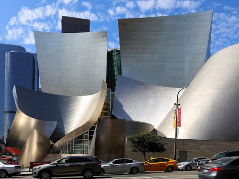 The Walt Disney Concert Hall, Los Angeles