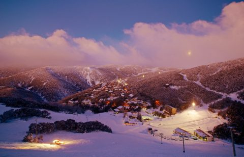 Falls Creek ski fields
