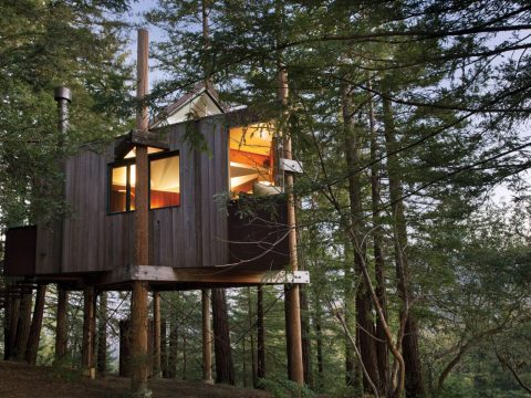 Tree House at Post Ranch Inn, USA
