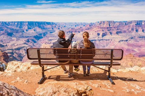 Kids at the Grand Canyon