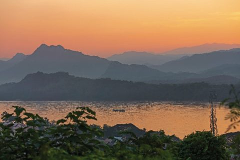 view over the mekong