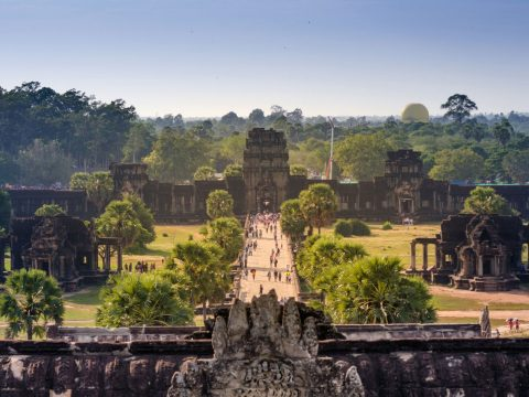 Marvel at Angkor Wat
