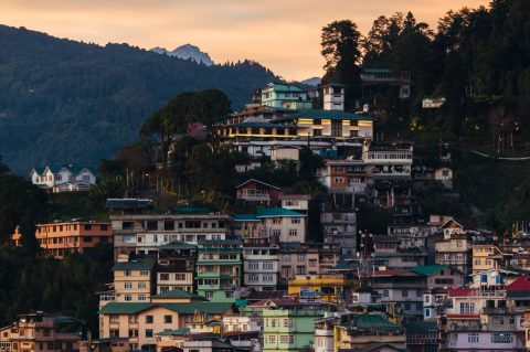 Village, Sikkim, India