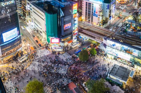 Get that shot at the Shibuya Crossing