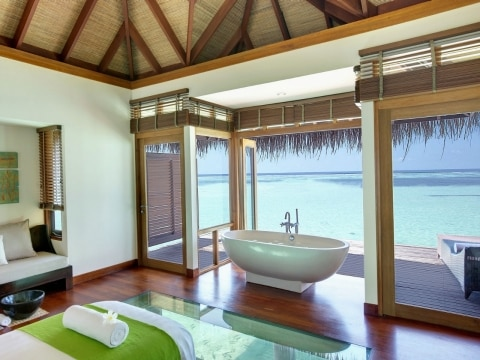 The Maldives Lux South Ari Atoll Resort is a Tropical Paradise