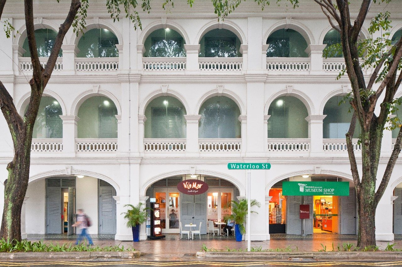 Bras Basah neighbourhood in Singapore