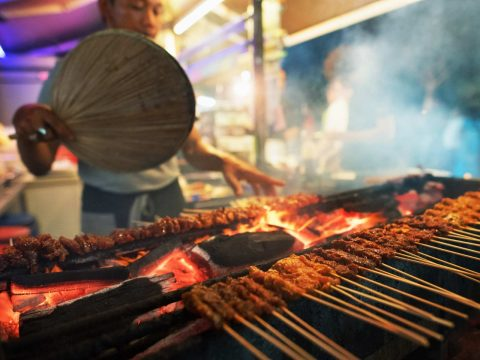 Satay by the Bay hawker centre