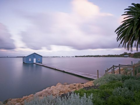 The Crawley Edge Boatshed, Perth