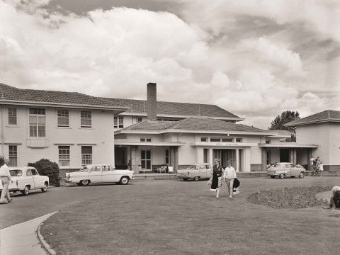 Then and Now: Hotel Kurrajong Canberra