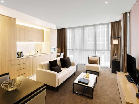 Accommodation at the new Skye Hotel Suites Parramatta
