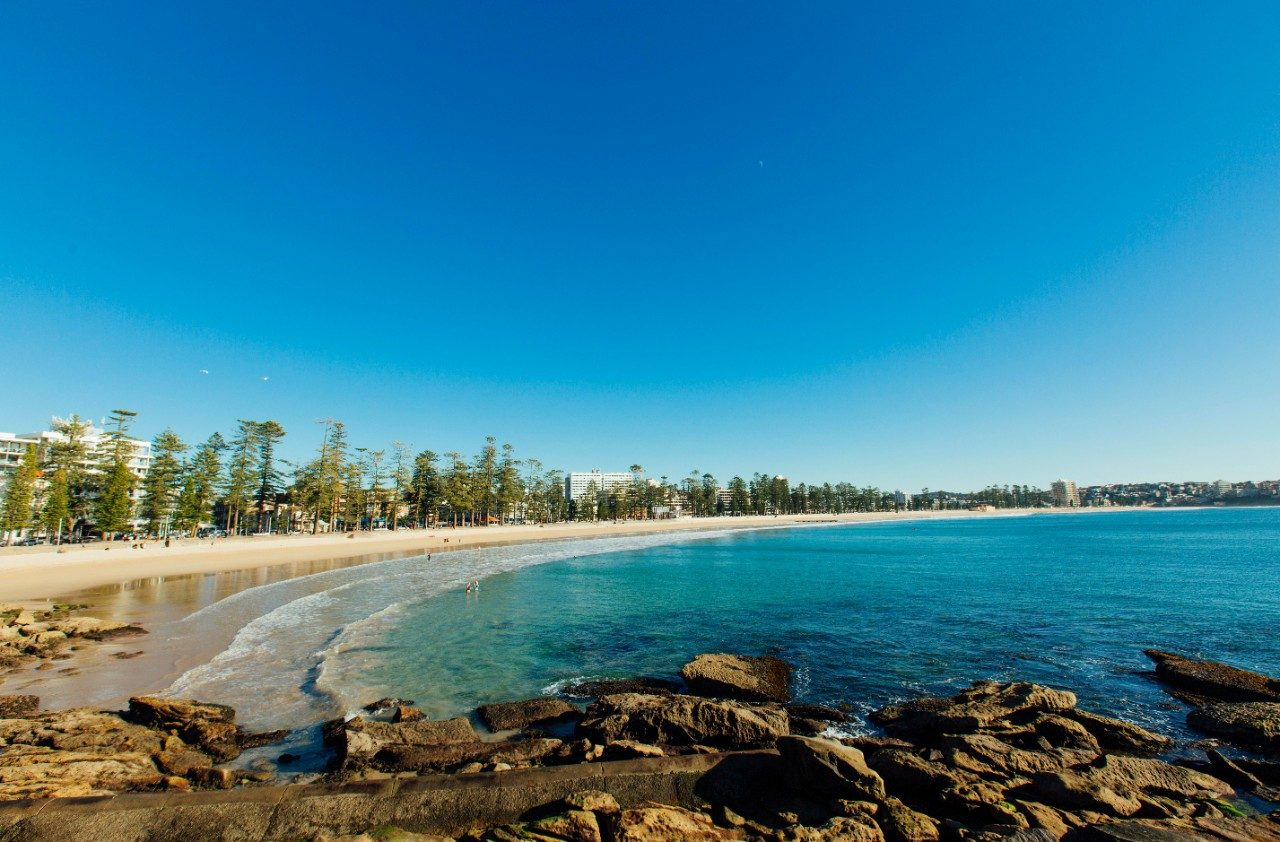 Best for ocean swimming: Manly and Shelly beaches