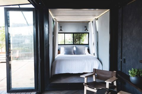 Stay Overnight in a Shipping Container Hotel on Sydney Harbour at Cockatoo Island
