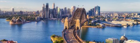 Sydney Harbour aerial virtual tour