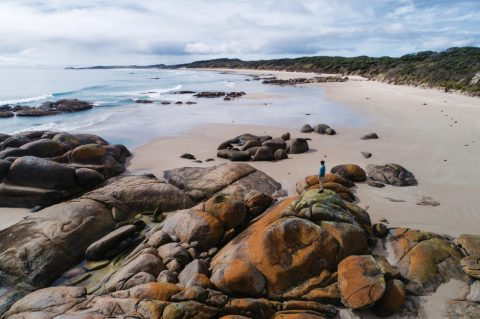 Martha Lavinia Beach, King Island