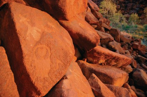 Rock art Burrup Peninsula