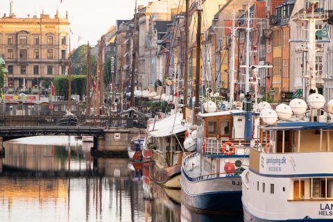Canal boats at Nyhavn