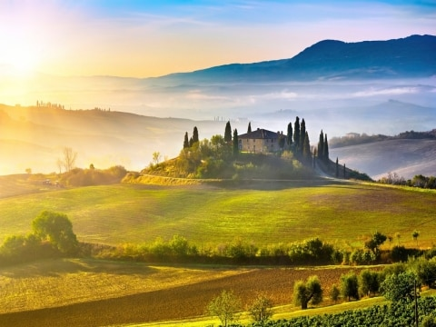 Explore the Tuscan countryside