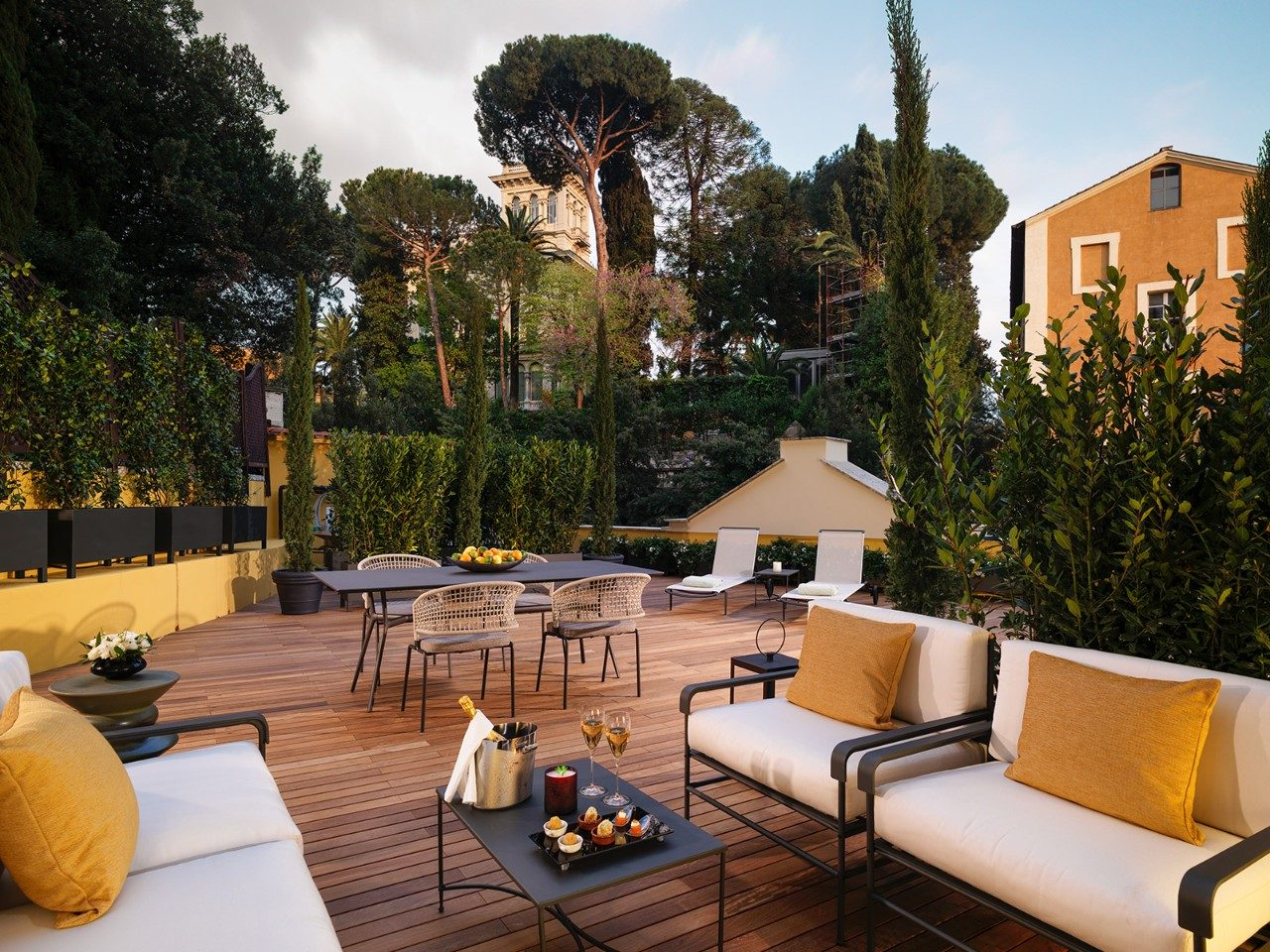 The Rome Hotel With Fascinating Neighbours Travel Insider