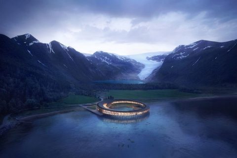 This 360-Degree Hotel in Norway is the Arctic Circle's First Energy Positive Accomodation